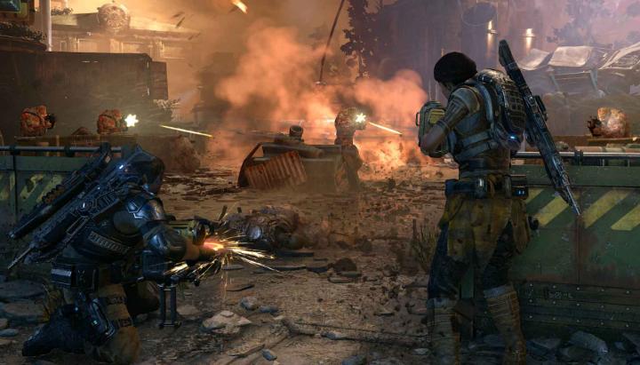 Photo of В онлайн игре Gears of War 4 будет постоянный мультиплеер между PC и Xbox One