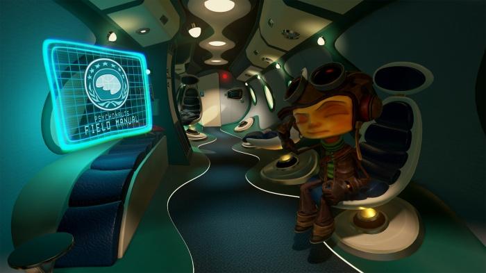 Пролог к Psychonauts 2 выйдет в конце следующего месяца, а пока— трёхмерный скриншот