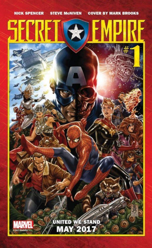 Secret Empire: о чем расскажет новое событие в комиксах Marvel?
