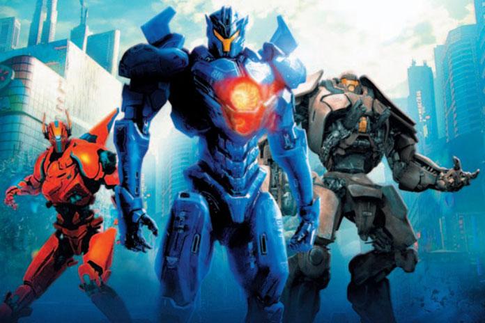 Как выглядят боевые роботы в «Тихоокеанском рубеже 2»: первый арт