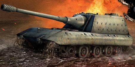 """Обзор немецкой Пт-Сау """"Jagdpanzer E100"""""""