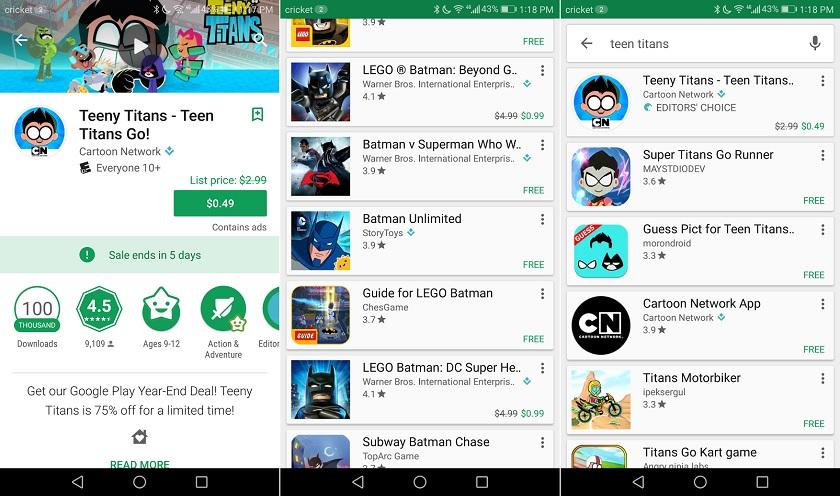 Google Play уведомит пользователей о скидках на приложения