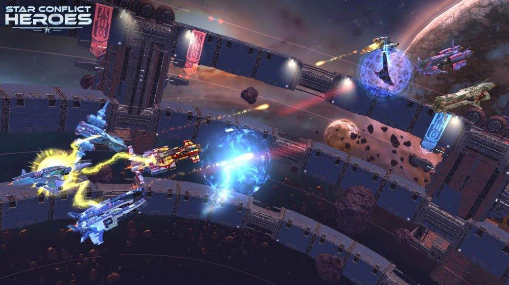 Состоялся релиз Star Conflict Heroes наAndroid