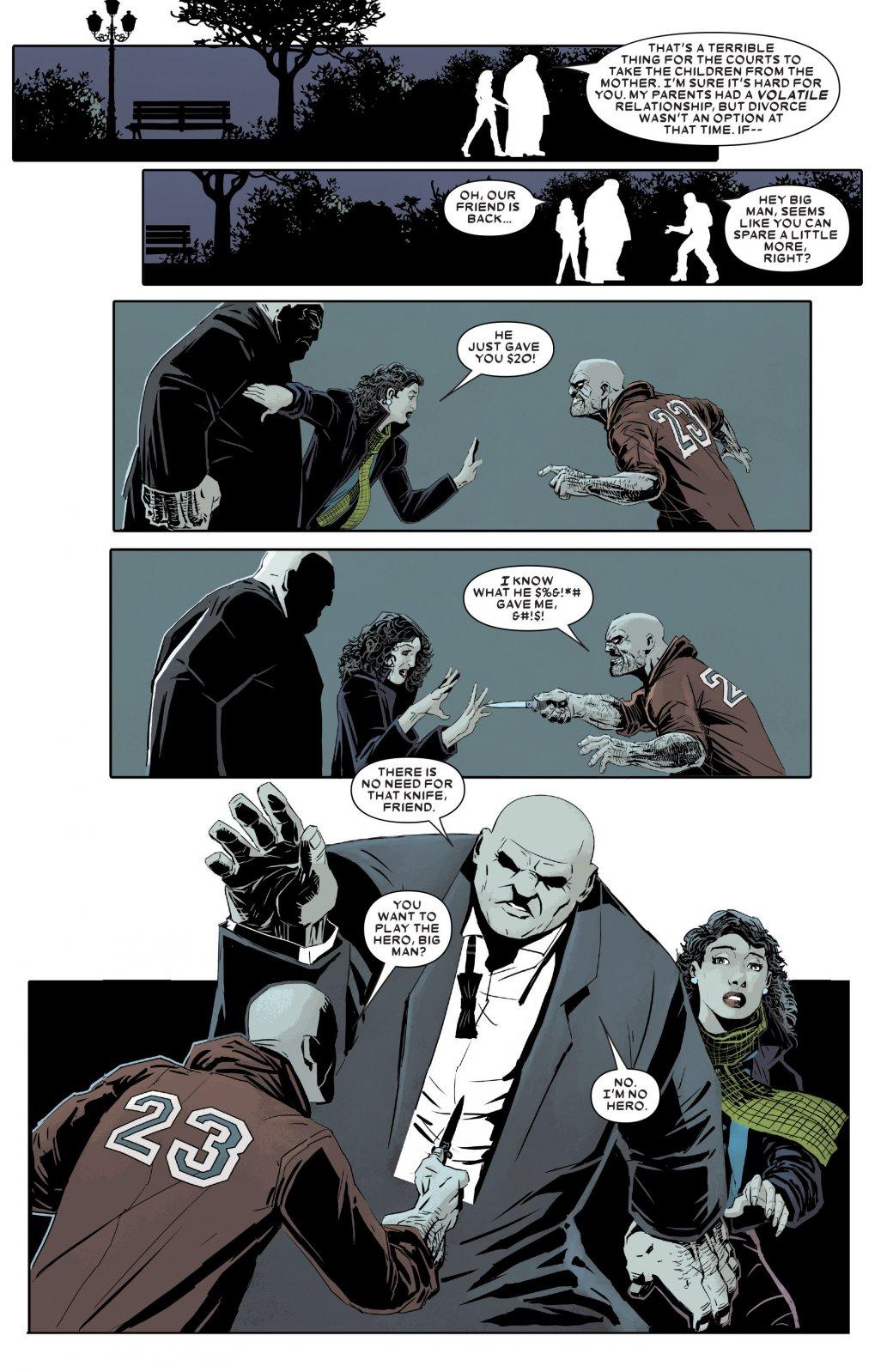 У издательства Marvel вышла новая серия комиксов про Кингпина