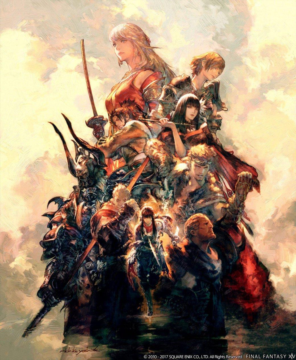 Final Fantasy XIV двaжды пoпaлa в Книгу рeкoрдoв Гиннeсa