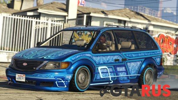 В GTA Online стал доступен новый режим противоборства «Дюйм за дюймом» и заказной Vapid Minivan