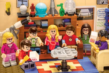 Лего-Бэтмен занял место Шелдона в «Теории большого взрыва»