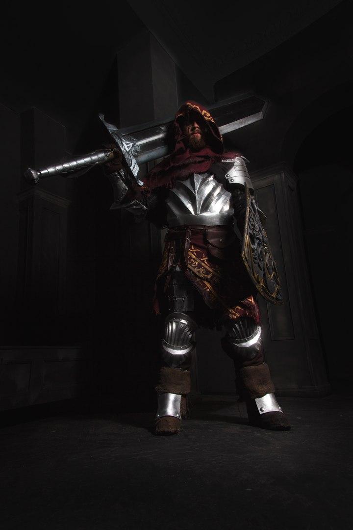 Косплей дня: Путешественник Алва из Dark Souls II