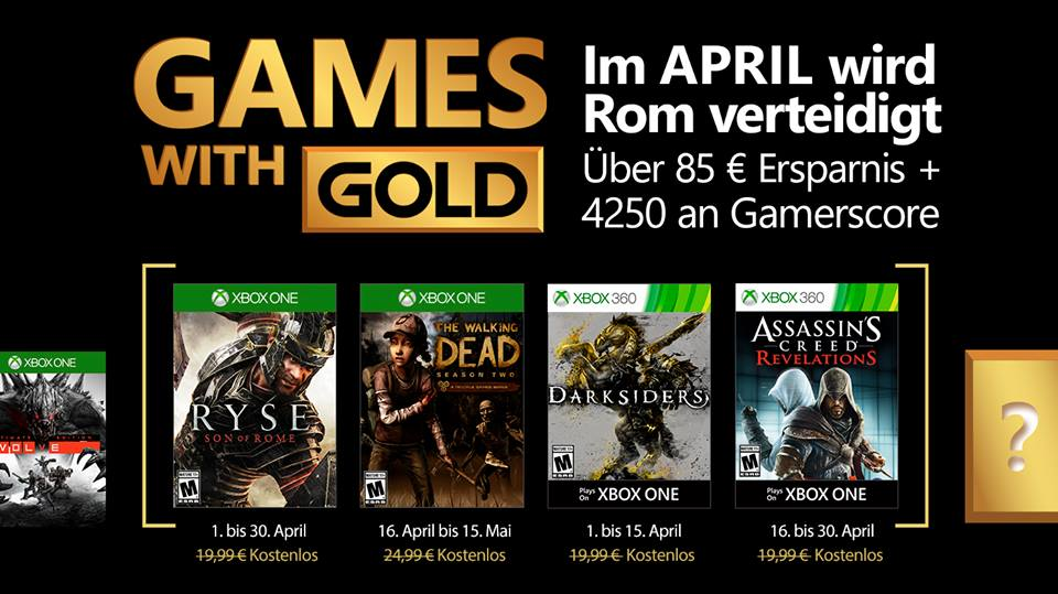 Photo of Апрельский набор Xbox Games with Gold довольно хорош