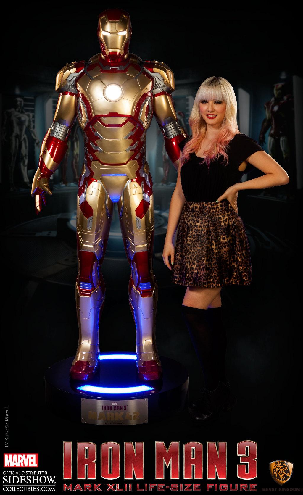 Sideshow выпустят статую Железного человека в полный рост (!!!)