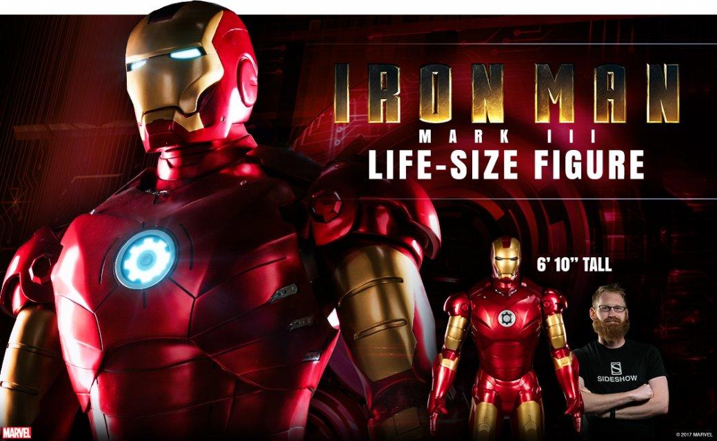 Photo of Sideshow выпустят статую Железного человека в полный рост