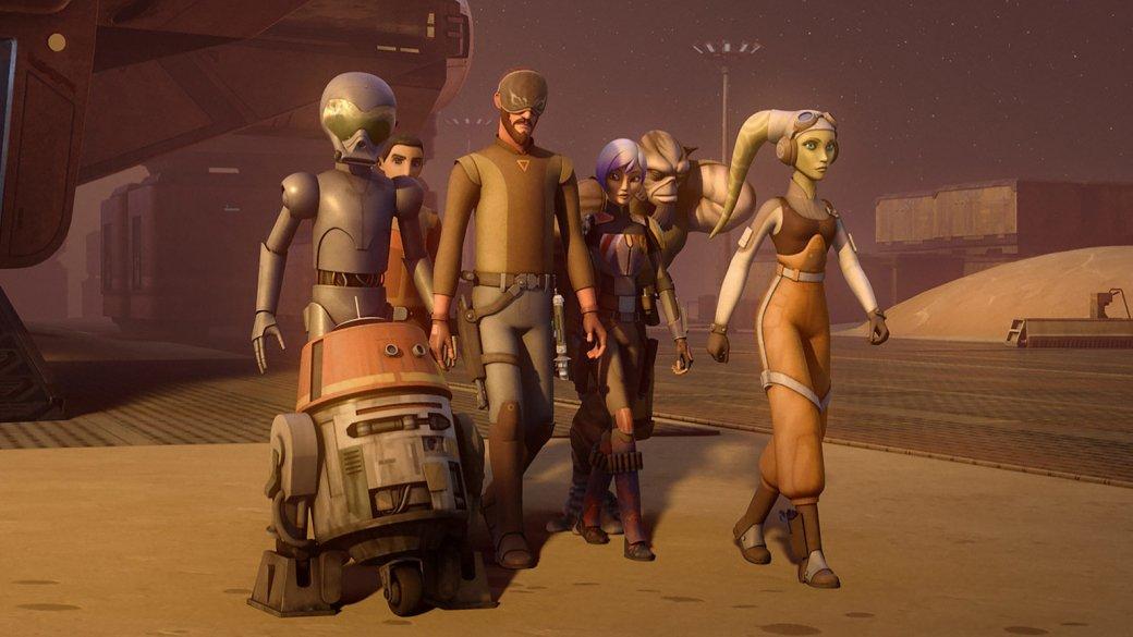 Пляжа не будет. «Звездные войны. Повстанцы» не покажут Скариф и Джеду