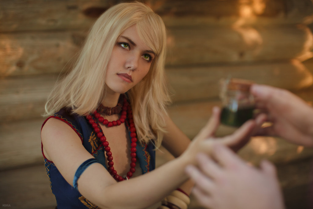 Photo of Косплей дня: обольстительная Кейра Мец из The Witcher 3 (NSFW)