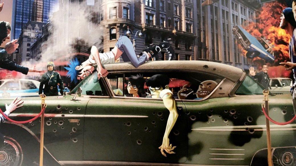 Photo of Полюбуйтесь на прекрасные иллюстрации из артбука по Humanz от Gorillaz