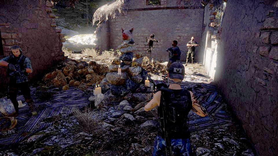 Игроки пытаются найти миссию сохотой наведьм в Ghost Recon: Wildlands