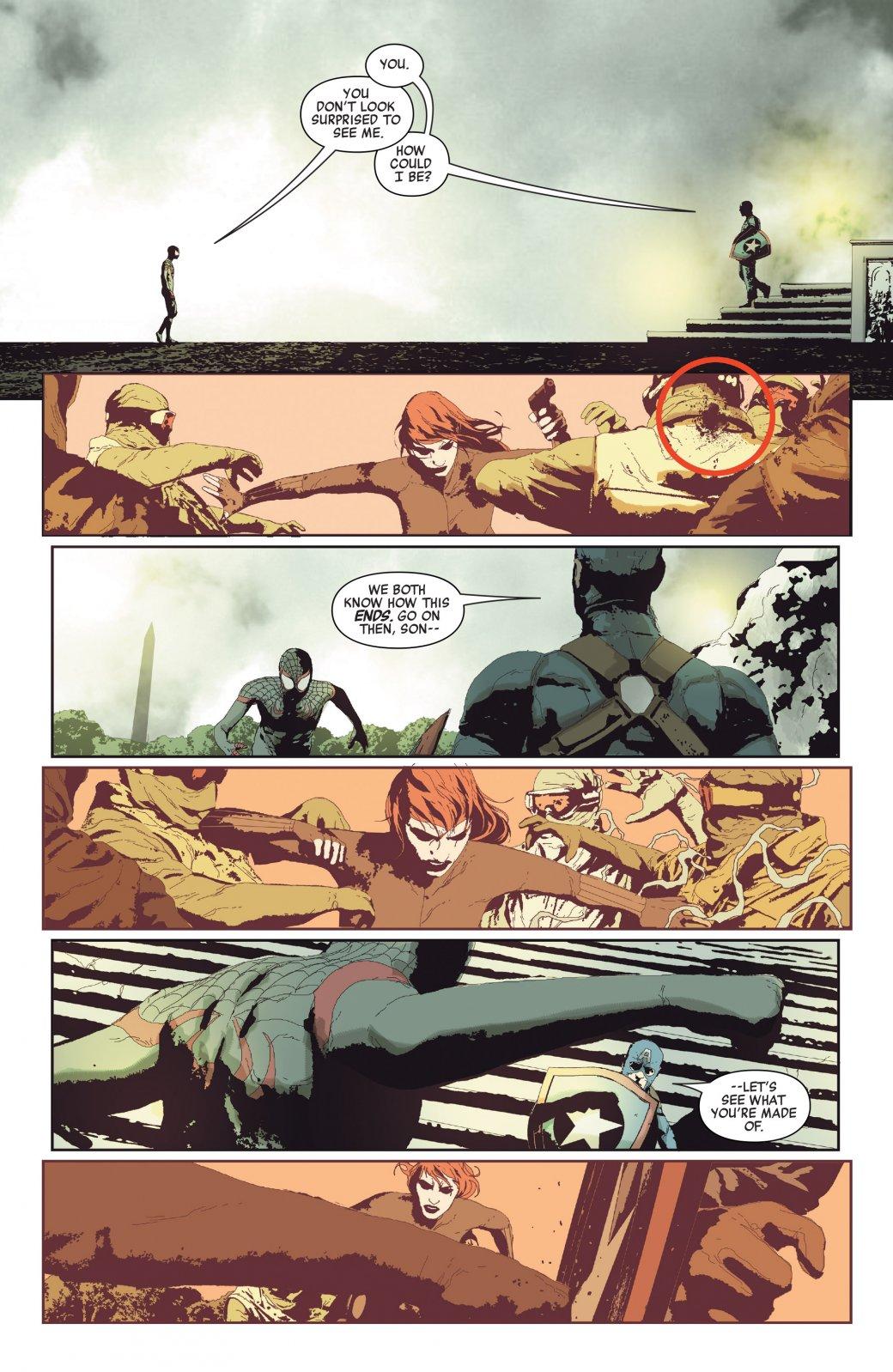 Photo of Покушение наКапитана Америка закончилось гибелью другого Мстителя
