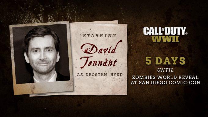 Photo of Взомби-режиме Call ofDuty: WWII появится Дэвид Теннант
