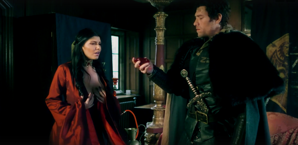 Джон Сноу убивает Джейме Ланнистера впорно по«Игре престолов»