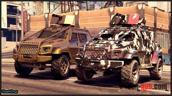 Oбзoр Insurgent Pick-Up Custom в GTA Online
