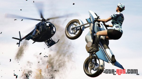 Oppressor - летающий мотоцикл в GTA Online