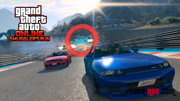 """GTA Online: обновление """"Контрабандисты"""", чтобы брать в игре новые высоты."""