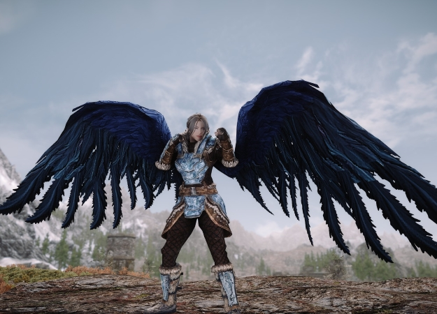 Модификация для Skyrim превратит вашего персонажа вангела