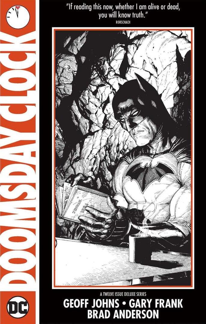 Новый тизер Doomsday Clock: Бэтмен читает дневник Роршаха