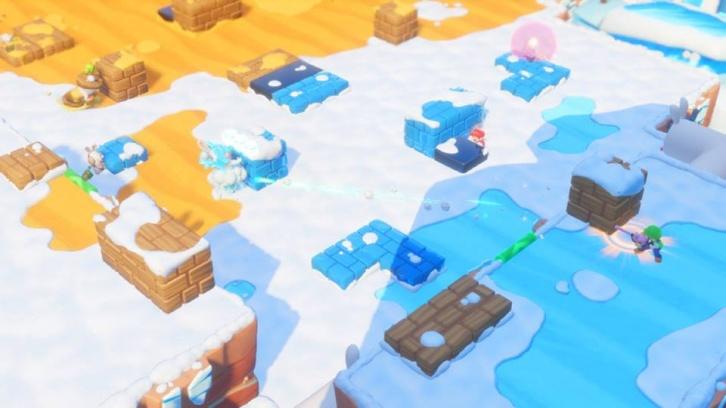 Mario + Rabbids Kingdom Battle: Обзор