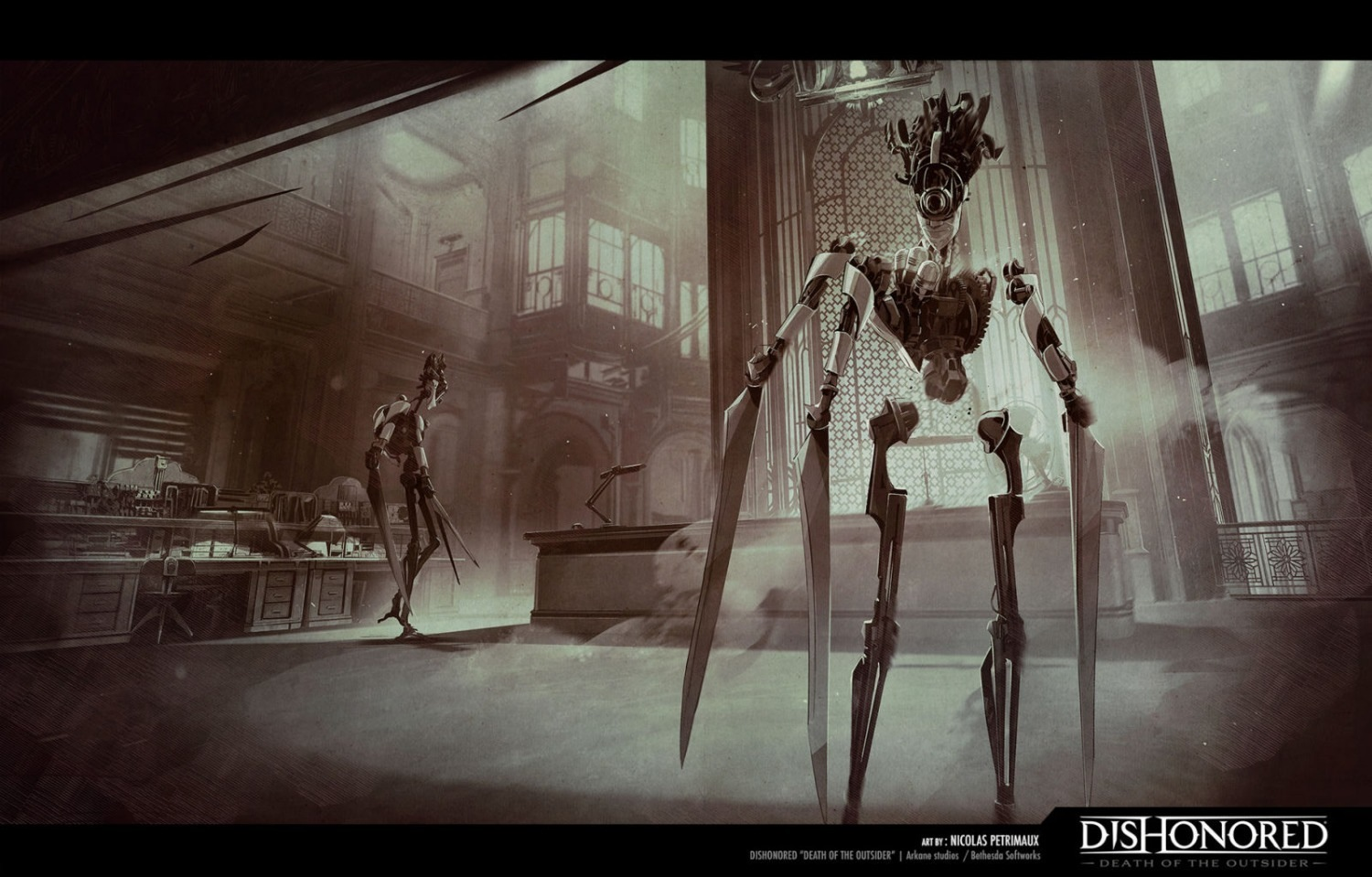 Арты к Dishonored 2: Death Of The Outsider