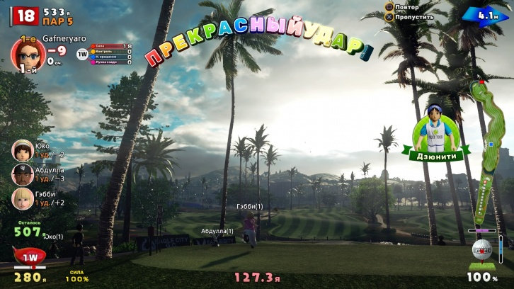 Everybody's Golf: Обзор