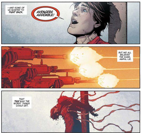 Secret Empire: кто погиб вовремя правления Гидры?