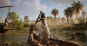 Видеоролик к выходу интерактивного тура— режима для Assassin's Creed: Origins, где убрали всё ненадобное
