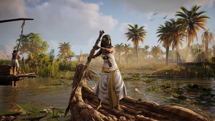 Photo of Видеоролик к выходу интерактивного тура— режима для Assassin's Creed: Origins, где убрали всё ненадобное