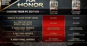 У For Honor появилось доступное издание в духе Rainbow Six Siege