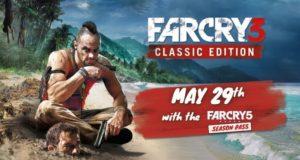 Far Cry 3 Classic Edition для PS4 и Xbox One станет доступна с 29 мая