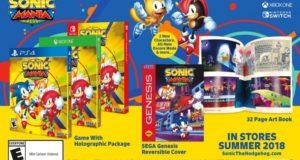 У Соника начинается бурный шаг в жизни: свежие гонки, кроссовки, мульт и улучшенная Sonic Mania