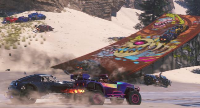 «Гонки   Громи все» — новейший видеоролик боевика на колёсах Onrush
