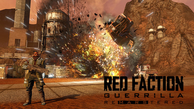Red Faction Guerrilla Re-Mars-tered – ремейк шутера на Марсе