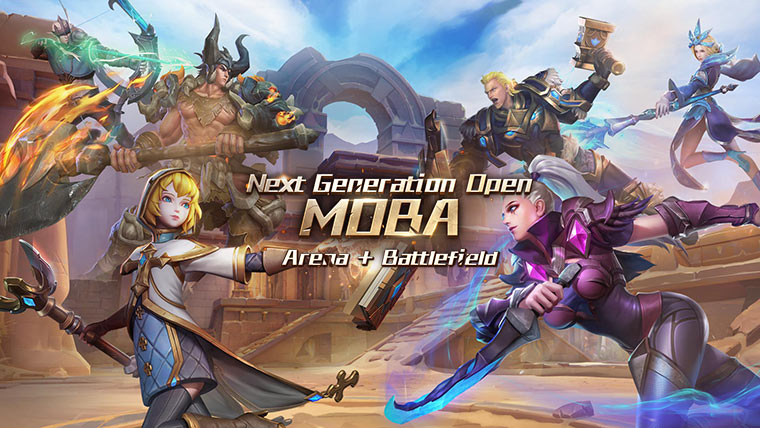 Photo of Endless Battle – анонсирована MOBA будущего