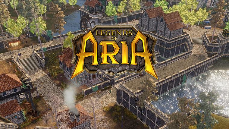 Legends of Aria – бесплатные выходные олдскульной MMORPG