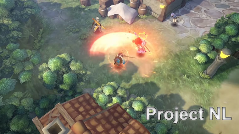Project NL – новая королевская битва в стиле аниме