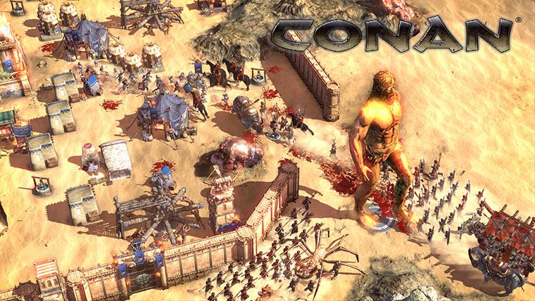 Conan Unconquered – новая стратегия о Конане