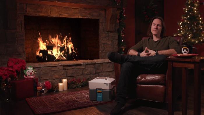 Photo of Руководитель Overwatch снова уютно сидел у камина и ничего не делал. Но в этот раз ему помогли