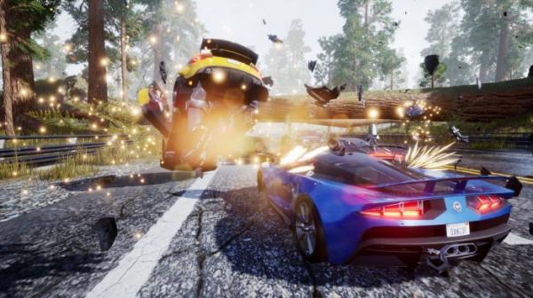Гонка Dangerous Driving от авторов Burnout получила дату выхода. Релиз на PC — только в Epic Games Store1