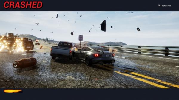 Гонка Dangerous Driving от авторов Burnout получила дату выхода. Релиз на PC — только в Epic Games Store11