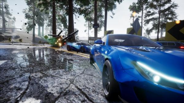 Гонка Dangerous Driving от авторов Burnout получила дату выхода. Релиз на PC — только в Epic Games Store4