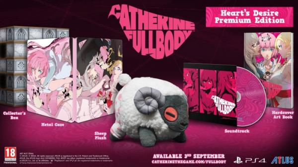 Международная версия Catherine: Full Body обзавелась датой релиза и коллекционкой0