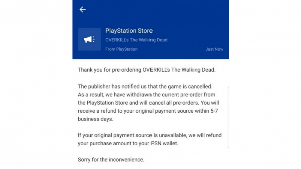 Photo of Похоже, Starbreeze отменила консольные версии Overkill's The Walking Dead