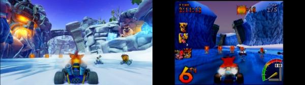 Ужимки милых зверушек в роликах из Crash Team Racing Nitro-Fueled3