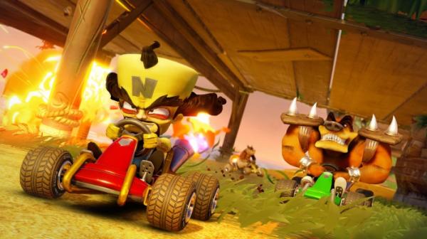 Ужимки милых зверушек в роликах из Crash Team Racing Nitro-Fueled1